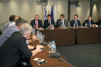 Συνάντηση του Προέδρου του ΣΒΒΕ με τον Κυριάκο Μητσοτάκη