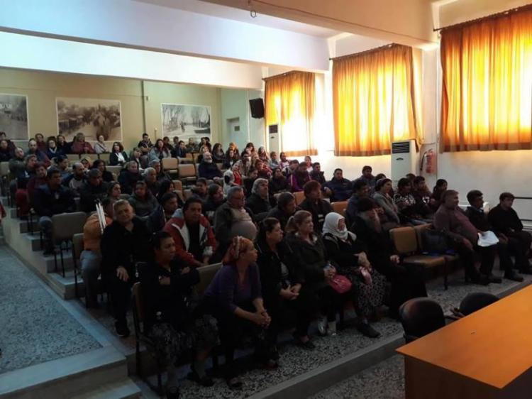 Ημερίδα για τους δικαιούχους του ΤΕΒΑ πραγματοποιήθηκε στην Αλεξάνδρεια με μεγάλη συμμετοχή πολιτών