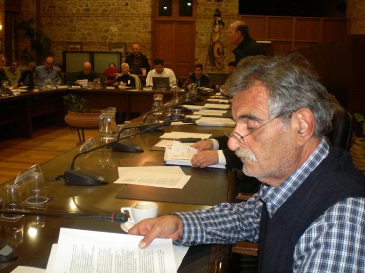 Κ.Βοργιαζίδης στο χθεσινό ΔΣ Βέροιας :