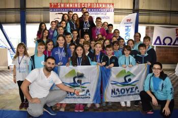 Πολυνίκης ξανά για 2η φορά η Κ.Α. «Νάουσα» στο 7th Swim Cup Ιωάννινα
