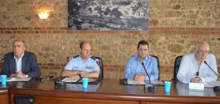 Σύσκεψη του Συντονιστικού Οργάνου Πολιτικής Προστασίας (ΣΟΠΠ) Π.Ε. Ημαθίας την Τετάρτη 5 Δεκεμβρίου