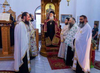 Εσπερινός και Παράκληση στην Παναγία στον Ιερό Ναό Αγίου Αλεξάνδρου Αλεξανδρείας