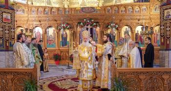 Εορτάστηκε η μνήμη του Οσίου Πορφυρίου του Καυσοκαλυβίτου