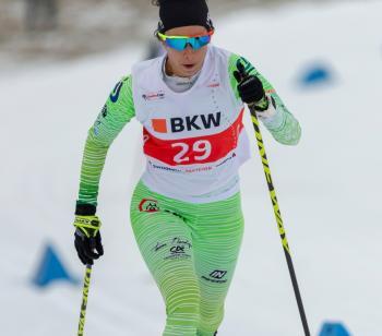 Υποσχόμενη επίδοση της Ντάνου Μαρίας στο διεθνές ελβετικό πρωτάθλημα στο Γκομς της Ελβετίας