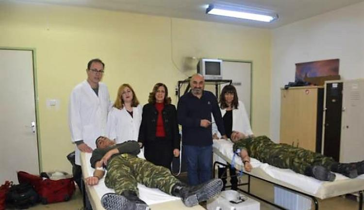 Ενθαρρυντική η συμμετοχή στην Εθελοντική Αιμοδοσία της 5ης Δεκεμβρίου στην Αλεξάνδρεια