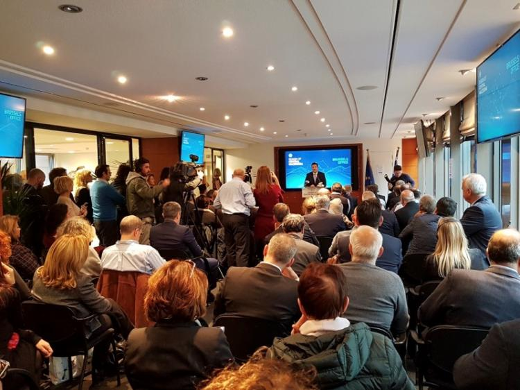Α. Τζιτζικώστας : «Η Κεντρική Μακεδονία βρίσκεται πλέον στις Βρυξέλλες, στην καρδιά της Ευρώπης»