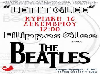 """Let it Glee"", μουσική παράσταση από την Πρωτοβουλία για το Παιδί και το Ωδείο Φίλιππος"