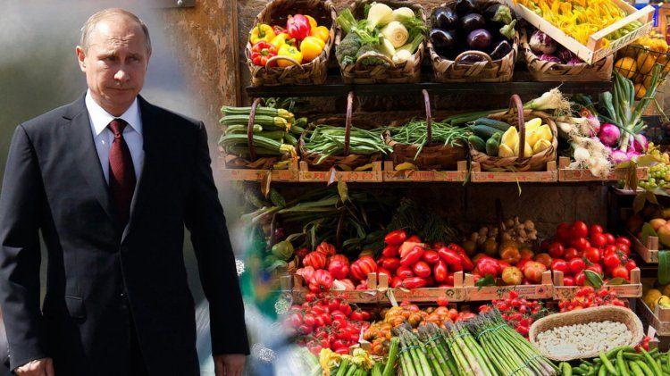 Μέχρι τέλος του 2018 παρατείνεται το ρωσικό εμπάργκο στις εισαγωγές αγροτικών προϊόντων
