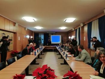 Συνάντηση των υπ. Στ. Αραχωβίτη και Ν. Παππά  με τον Ευρωπαίο Επίτροπο Γεωργίας και Αγρ. Ανάπτυξης Phil Hogan