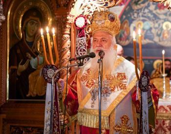Αγρυπνία στην ΙΜ Παναγίας Δοβρά, επί τη εορτή των Αγ. 5 Μαρτύρων Ευστρατίου, Αυξεντίου, Ευγενίου, Μαρδαρίου και Ορέστου