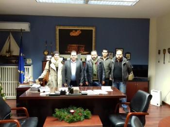 Συνάντηση του Κ. Καλαϊτζίδη με τους εκπροσώπους του νεοσύστατου Αγροτικού Συλλόγου Ημαθίας