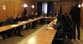 Συνάντηση του Στ. Αραχωβίτη με εκπροσώπους της Πανελλαδικής Επιτροπής Μπλόκων