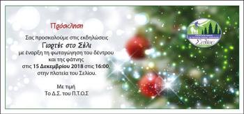 Στους χριστουγεννιάτικους, γιορτινούς, ρυθμούς το Σέλι!