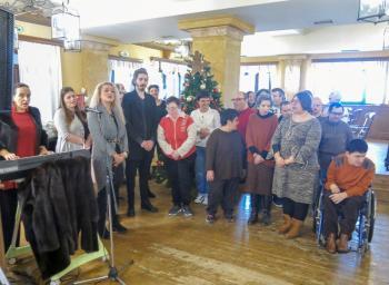 Χριστουγεννιάτικη εκδήλωση του Κέντρου Μέριμνας για Άτομα με Ειδικές Δεξιότητες του Δήμου Βέροιας