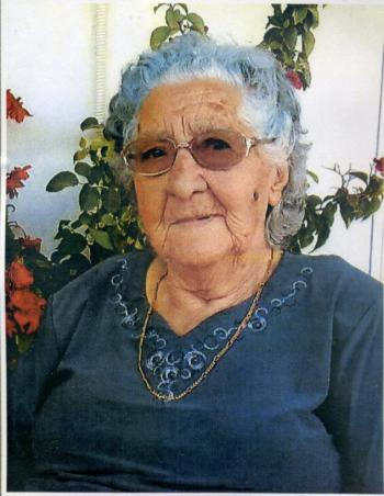Σε ηλικία 92 ετών έφυγε από τη ζωή η ΓΕΩΡΓΙΑ Ε. ΧΑΤΖΟΠΟΥΛΟΥ