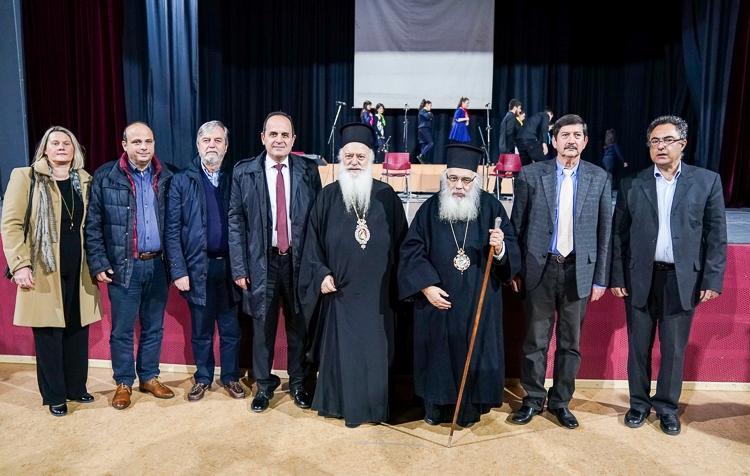 Ομιλία του Σεβασμιωτάτου στην Ιστορική και Λαογραφική εταιρεία Γιαννιτσών «Ο Φίλιππος»