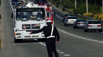 Απαγόρευση κυκλοφορίας φορτηγών ωφελίμου φορτίου άνω του 1,5 τόνου κατά την περίοδο των εορτών