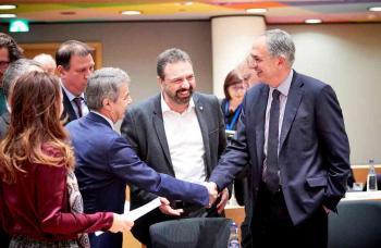 Σ. Αραχωβίτης και Χ. Κασίμης στο Συμβούλιο Υπουργών Γεωργίας & Αλιείας στις Βρυξέλλες