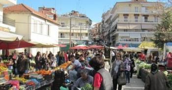 Έκτακτη μεταφορά της ημέρας λειτουργίας της Λαϊκής Αγοράς της Βέροιας
