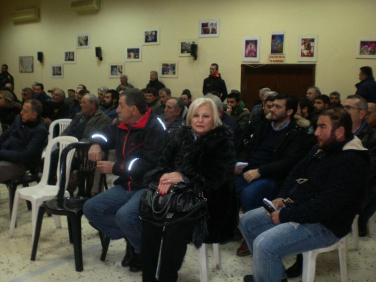 Την πρώτη του γενική συνέλευση πραγματοποίησε ο νεοσύστατος Αγροτικός Σύλλογος Ημαθίας