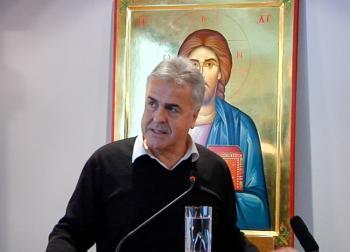 Ομιλία του κ. Διονυσίου Διαμαντόπουλου στη Σχολή Γονέων Βεροίας
