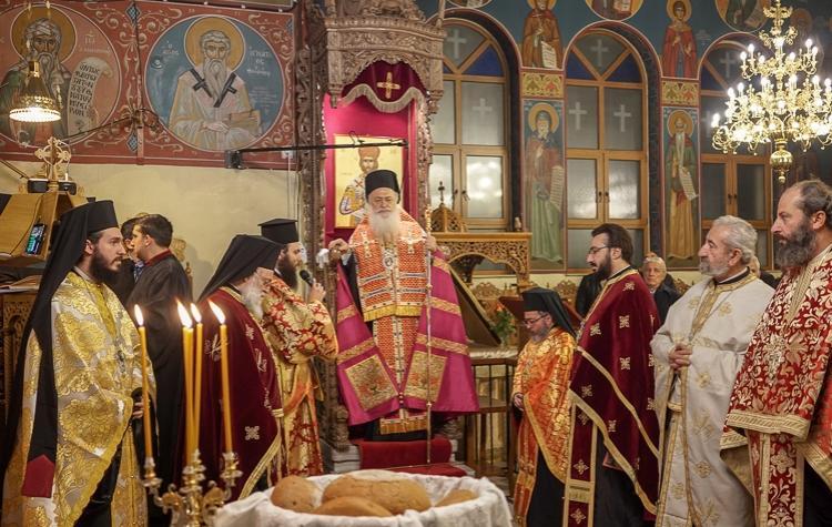 Πολυαρχιερατικός εσπερινός της εορτής του Αγίου Στεφάνου στην Καβάλα