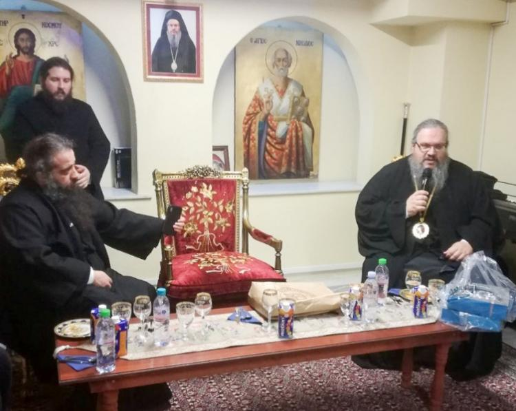 Προσκυνηματική εκδρομή του Κοινωνικού Φροντιστηρίου στην Ιερά Μητρόπολη Λαρίσης και Τυρνάβου