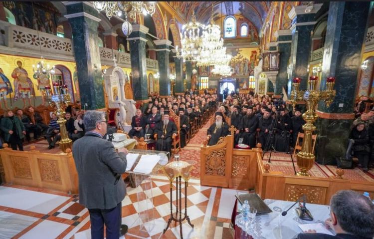 Πραγματοποιήθηκε η ημερίδα «Παιδεία: παρόν και μέλλον» στον Ιερό Ναό Αγίου Αντωνίου πολιούχου Βεροίας