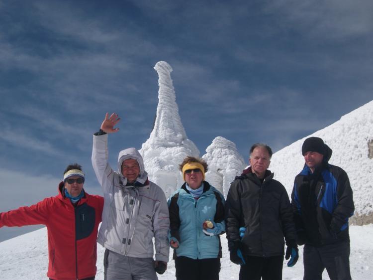 ΒΟΡΑΣ 2524 μ., Κυριακή 30 Δεκεμβρίου  2018 - Πορεία στο χιόνι - Με τους Ορειβάτες Βέροιας