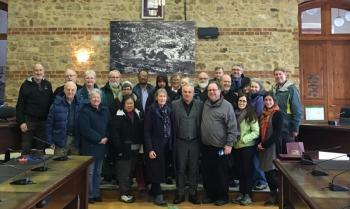 Πανεπιστημιακοί από το Κεντάκι της Αμερικής επισκέφτηκαν τη Βέροια