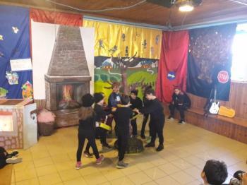 «Η αγέλαστη πολιτεία και οι καλικάντζαροι» από το 3ο Δημοτικό Σχολείο Βέροιας