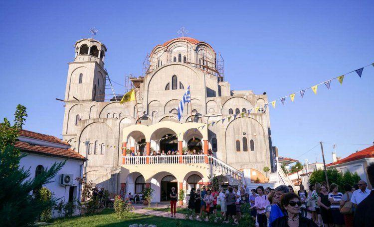 Πανηγύρισε ο νεόδμητος Ι.Ν. Αγίων Νεομαρτύρων Αθανασίου και Ιωάννου των Κουλακιωτών στη Χαλάστρα Θεσσαλονίκης
