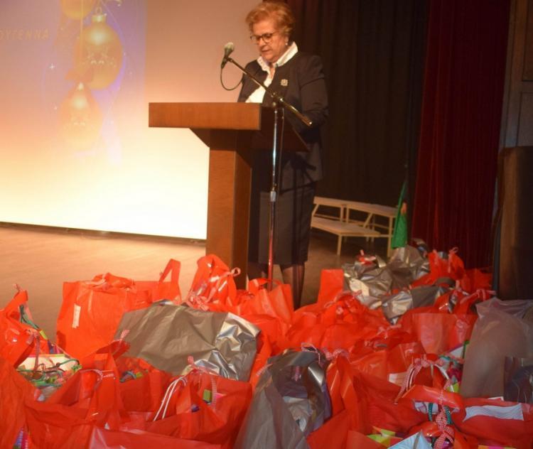Πραγματοποιήθηκε η Χριστουγεννιάτικη εκδήλωση του Ομίλου Προστασίας Παιδιού Βέροιας