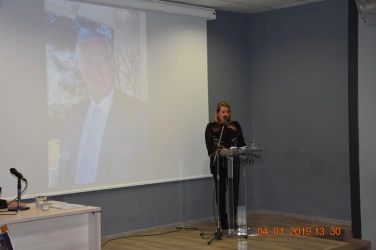Τελετή ονοματοδοσίας των κτιρίων ΒΕΤΛΑΝΣ και ΕΡΙΑ σε χώρους Πολιτισμού «Χρήστος Λαναράς»