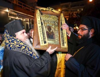 Τη Θαυματουργό Ιερά Εικόνα της Παναγίας Σουμελά υποδέχθηκε η Ιερά Μητρόπολη Νέας Κρήνης και Καλαμαριάς