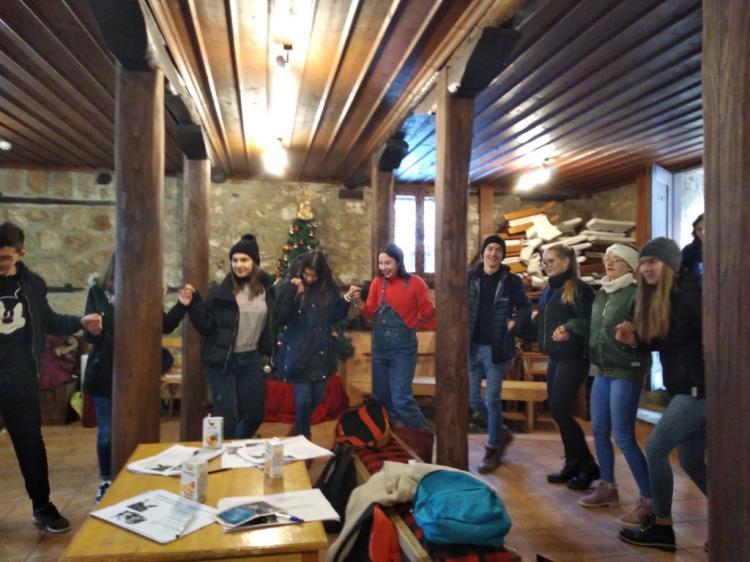 Επίσκεψη μαθητών στο Σύλλογο Βλάχων Βέροιας από Εσθονία, Πορτογαλία και Φινλανδία