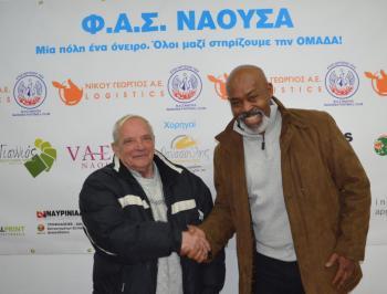 Παραιτήθηκε ο προπονητής του ΦΑΣ Νάουσα Γιώργος Σγούρδας, νέος προπονητής ο Φερέιρα Κινγκ
