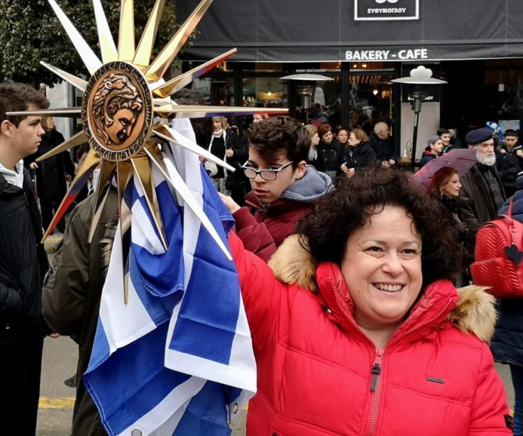 Αρχαία Μακεδόνισσα η πρόεδρος!