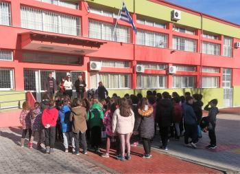 Μαθητικά εισιτήρια διαρκείας του Π.Σ. ΒΕΡΟΙΑ στο 4ο Δημοτικό Σχολείο Βέροιας