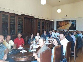 Συσκέψεις του Αν. ΥΠΑΑΤ, Γ. Τσιρώνη, με υδατοκαλλιεργητές και Πανελλήνια Ένωση Κτηνοτρόφων