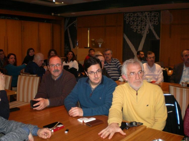 Εξαιρετικού ενδιαφέροντος ημερίδα για την Ελληνική Οικονομία πραγματοποιήθηκε στην «Ελιά»