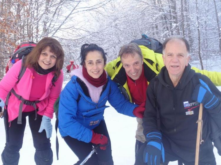 ΒΕΡΜΙΟ, κορυφή Στουρνάρι 1770 μ, Κυριακή 27 Ιανουαρίου 2019, Πορεία στο χιόνι, με τους Ορειβάτες Βέροιας