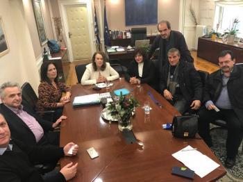 Συνάντηση Καρασαρλίδου-Συνεταιριστών με την Κ.Παπανάτσιου για την μαύρη εργασία και τη φορολόγηση των αγροτών