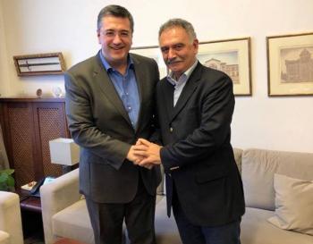 Εκ νέου υποψήφιος με τον Απόστολο Τζιτζικώστα ο Θεόφιλος Τεληγιαννίδης