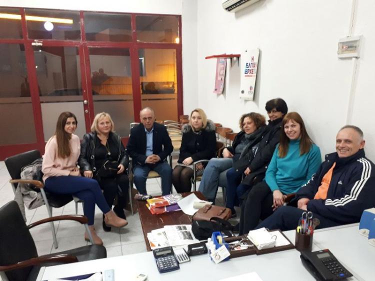 Με αντιπροσωπεία εργαζομένων στα ΚΔΑΠ και ΚΔΑΠ ΑμεΑ Αλεξάνδρειας συναντήθηκε ο βουλευτής Ημαθίας Χρ.Αντωνίου