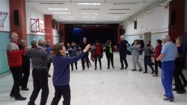 Κοπή πίτας του Χορευτικού του Πολιτιστικού Ομίλου Ξηρολιβάδου