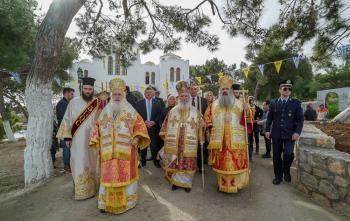 Πανήγυρις Αγίων Νεομαρτύρων Ιωάννου, Νικολάου και Σταματίου, προστατών των Σπετσών