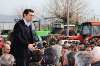 Όταν ο Αλέξης Τσίπρας ανέβαινε στα τρακτέρ των μπλόκων της αγροτιάς!