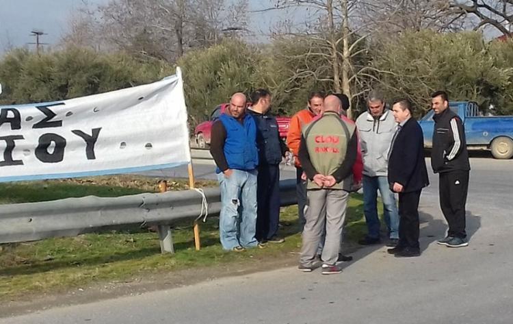 Δεν κάνουν πίσω οι αγρότες της Ημαθίας, προχωρούν σε καταρχήν συμβολικούς αποκλεισμούς