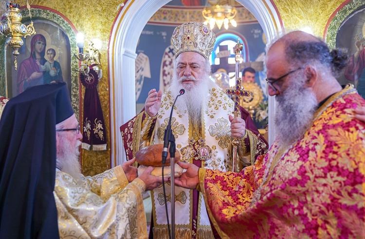 Εορτάστηκε η μνήμη του Αγίου Μεγαλομάρτυρος Χαραλάμπους στην Κυδωνιά